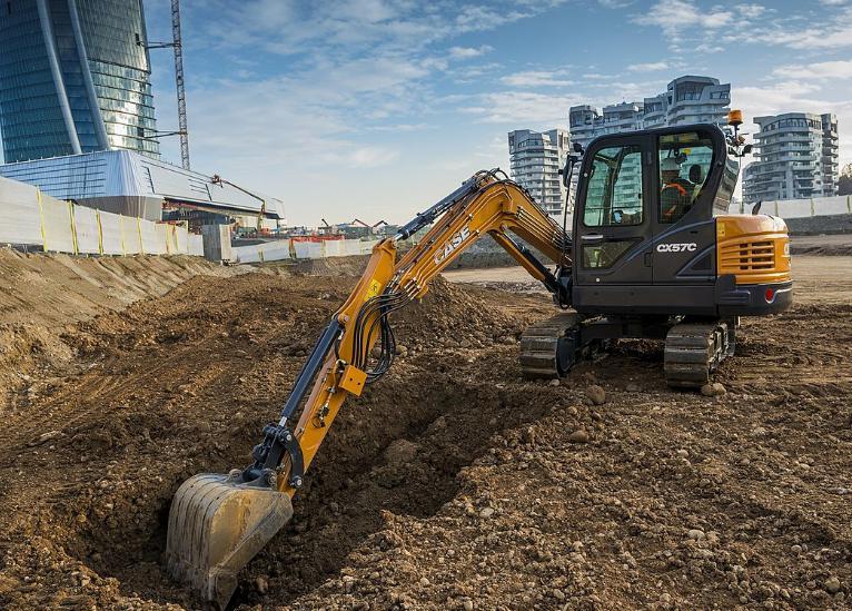 How deep can a mini excavator dig?