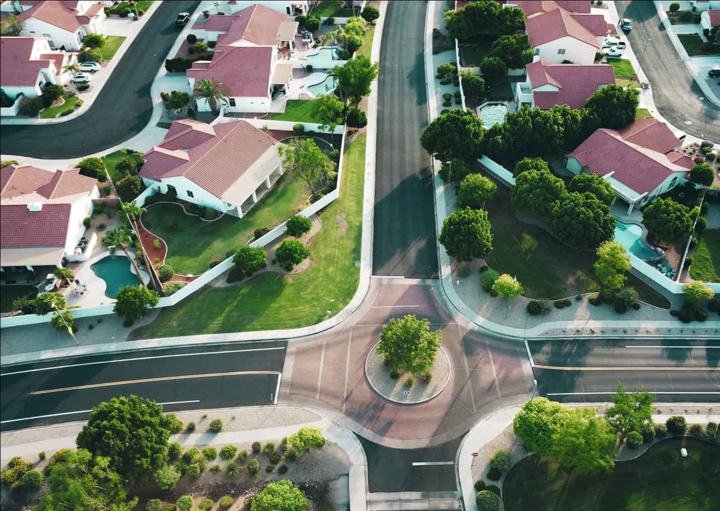 Neighborhood at Daytime