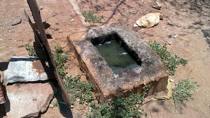 A full septic tank